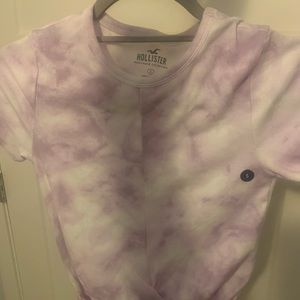 BRAND NEW TIE DYE FRONT KNOT SHIRT